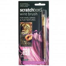 Ampersand : Scratchbord Wire Brush