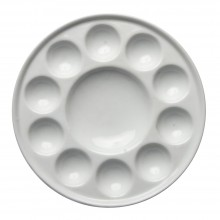 Jackson's : Ceramic Palette : No. 07 7 in. diameter