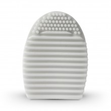 Studio Essentials : Silicone Brush Cleaning Egg : White