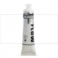 Derivan : Matisse Flow : Acrylic Paint : 75ml : Titanium White