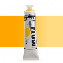 Derivan : Matisse Flow : Acrylic Paint : 75ml : Yellow Deep