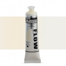 Derivan : Matisse Flow : Acrylic Paint : 75ml : Antique White