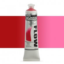 Derivan : Matisse Flow : Acrylic Paint : 75ml : Quinacridone Red