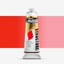 Derivan : Matisse Structure : Acrylic Paint : 75ml : Matisse Scarlet DPP