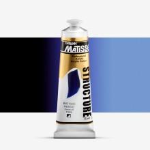 Derivan : Matisse Structure : Acrylic Paint : 75ml : Matisse Indigo