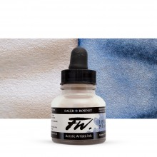Daler Rowney : FW Artists' Ink : 29.5ml : Shimmering Blue (Interference)