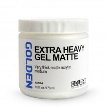 Golden : Extra Heavy Gel : Matte : 473ml