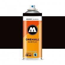 Molotow : One4All : Acrylic Spray Paint : 400ml : Signal Black