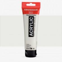 Royal Talens : Amsterdam Standard : Acrylic Paint : 120ml : Titanium White