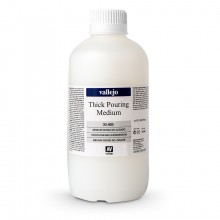 Vallejo : Thick Pouring Medium : 1000ml