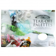 Winsor & Newton : Tear Off Palette : Medium 11 1/2 x 8in : 50 Sheets