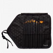 Etchr : Synthetic Brush : Set of 10 : With Brush Roll