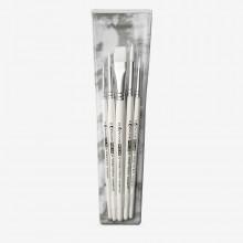 Pro Arte : Polar : Brush Wallet Set of 5 : 2-4-6-8 Round & 3/8 Flat
