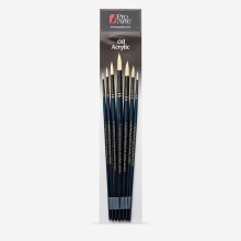 Pro Arte : Mastertouch : Reflex : Round  : Oil & Acrylic Brush Set