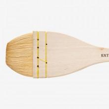 Pro Arte : Ron Ranson : Goat Hair Hake Brush : Extra Large : 2 3/8in