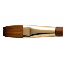 Isabey : Isaqua : Synthetic Sable Watercolour Brush : Series 6242i : Long Flat : Size : 8