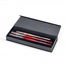 Da Vinci : Spin : Synthetic Watercolour Brush : Gift Set of 3