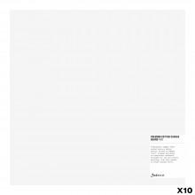 Jackson's : Box of 10 : Premium Cotton Canvas Art Board 4mm : 12x12in (Apx.30x30cm)