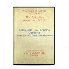 APCT : DVD : Quartered Oak and Dark Oak : Bill Holgate and Derek Smith