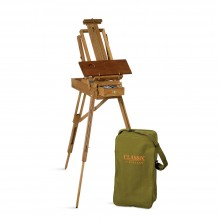 Jullian : Half Classic French Easel : Beechwood : With Carrying Bag