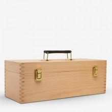 Jackson's : Wooden Utility Storage Box : Beech Wood : 36x13x13cm