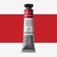 Sennelier : Egg Tempera Paint : 21ml : Alizarin Crimson