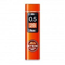 Pentel : Ain Stein : Lead Refill : 0.5mm : 2B