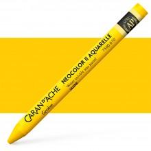 Caran d'Ache : Neocolor II : Watercolour Crayon : Yellow
