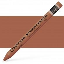 Caran d'Ache : Neocolor II : Watercolour Crayon : Cinnamon