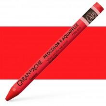 Caran d'Ache : Neocolor II : Watercolour Crayon : Scarlet