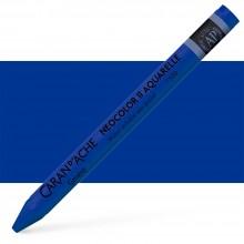 Caran d'Ache : Neocolor II : Watercolour Crayon : Royal Blue