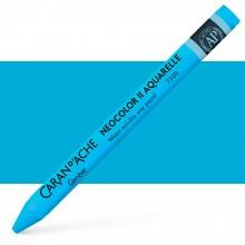 Caran d'Ache : Neocolor II : Watercolour Crayon : Light Blue