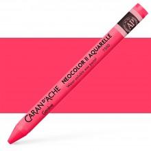 Caran d'Ache : Neocolor II : Watercolour Crayon : Ruby Red