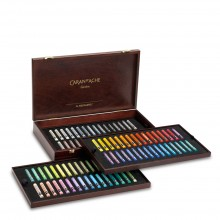 Caran d'Ache : Artist Neopastel : Luxury Wooden Box With 96 Colours