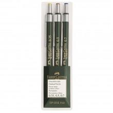 Faber Castell : TK-Fine Lead Pencils : Wallet of 3