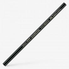Faber Castell : Pitt : Charocal Pencil : Black : Medium