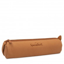 Speedball : Small Tan : Pencil and Accessory Case