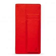 King Jim : Ittsui : Full Open Style Pen Case : Red