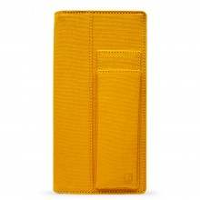 King Jim : Ittsui : Full Open Style Pen Case : Yellow