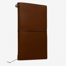 Traveler's Company : Traveler's Notebook : Leather Cover : Camel