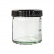 Studio Essentials : Empty 60ml Glass Jar with lid