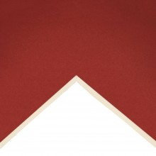 Daler Rowney : Studland Mountboard : A1 : 23x33in : Scarlet : 1048