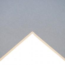 Daler Rowney : Studland Mountboard : A1 : 23x33in : Light Blue (W-Wood) : 1083