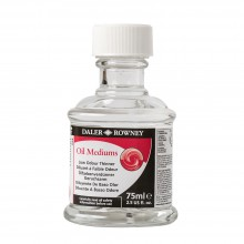 Daler Rowney : Low Odour Thinner : 75ml : Ship By Road Only