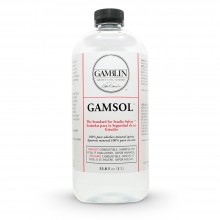 Gamblin : Gamsol Odourless Mineral Spirit : 1000ml