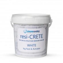 Resi-Crete : Structure / Texture Medium : 1kg : White