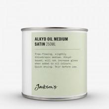 Jackson's : Fast Drying Alkyd Oil Medium : Satin : 250ml