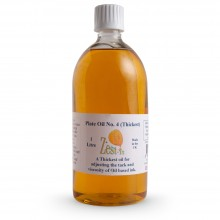Zest-It : Printmakers Plate Oil 4 (Thickest) : 1000ml
