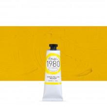 Gamblin : 1980 Oil Paint : 37ml : Hansa Yellow Medium