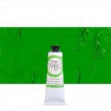 Gamblin : 1980 Oil Paint : 37ml : Permanent Green Light